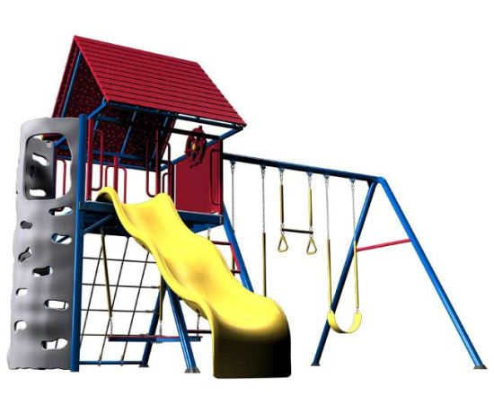Metal Residential Playsets Playground Equipment Store